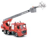 Пожарная машина-конструктор, фрикционная, свет, звук, вода, 1:12 Funky toys FT61114