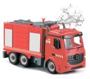 Пожарная машина-конструктор, фрикционная, свет, звук, вода, 1:12 Funky toys FT61115