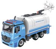 Водовоз-конструктор, фрикционный, свет, звук, вода, 1:12 Funky toys FT61117