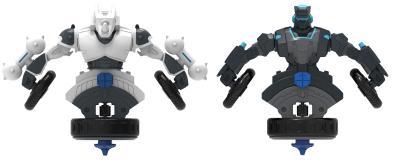 Игровой набор волчков-трансформеров  2-в-1 Spin Racers