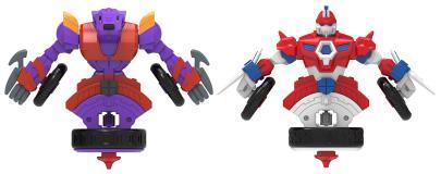 Набор волчков-трансформеров 2-в-1 Spin Racers