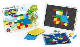 Мозаика  146 элементов 5 цветов  Magneticus MM-146