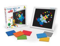 Мозаика 220 элементов 7 цветов  Magneticus MM-220
