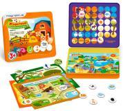 Игровой набор Животные в металлической коробке Magneticus POL- 009