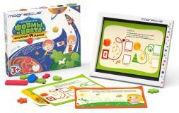 Игровой набор Формы и Цвета в картонной коробке Magneticus POL-011