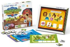 Игровой набор Животные в картонной коробке Magneticus POL-012
