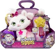 Плюшевый котенок 20 см SHIMMER STARS с сумочкой S19351